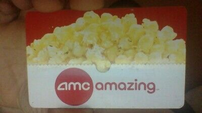 $25 amc theater physical gift card