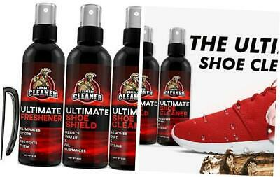 Ultimate Shoe Cleaner Kit By Combat Cleaner | Shoe Cleaner + Shoe Deodorizer