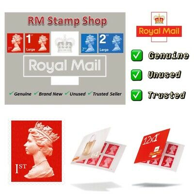 First Class Stamps Royal Mail ✔️Self Adhesive ✔️Genuine ✔️Brand New ✔️UK Seller