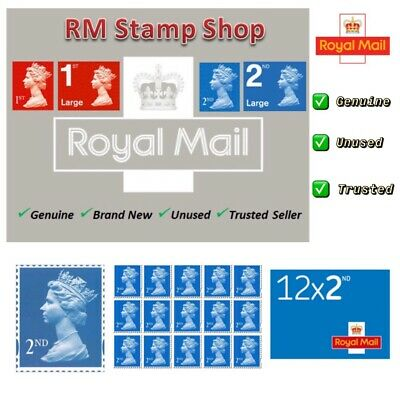 Royal Mail Second Class Stamps ✔️ Self Adhesive ✔️Genuine✔️Brand New ✔️UK Seller