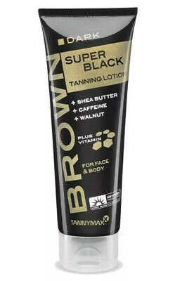 Tannymaxx Brown Super Black Tanning Lotion 125ml