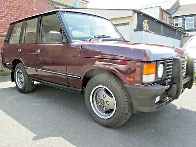 Range Rover Classic 300Tdi Soft Dash Manual 1994 Vogue