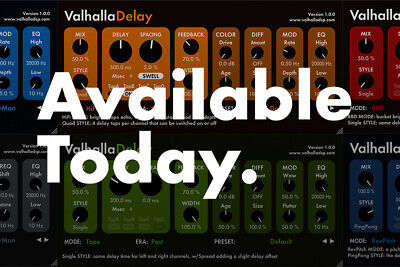 🔥Valhalla DSP Plugins Bundle 2019 Instant Delivery for windows digital rever🔥✅