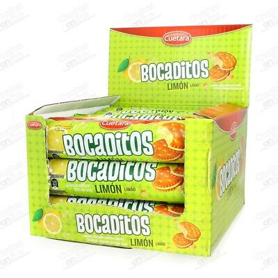 Galletas Bocaditos Limon 15 Paquetes Galletas 150 Gramos