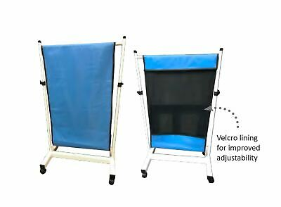 Adjustable mobile radiation barrier on wheels, Custom X-Ray Safety