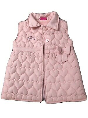 Disney Princess Girls Body Warmer Gillet Age 7-8