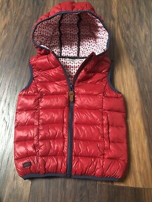 NEXT Girls Gilet Body warmer Age 7