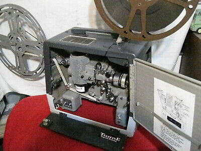 BELL & HOWELL TELECINE SILENT FILM PROJECTOR modified 302 SERVICED..