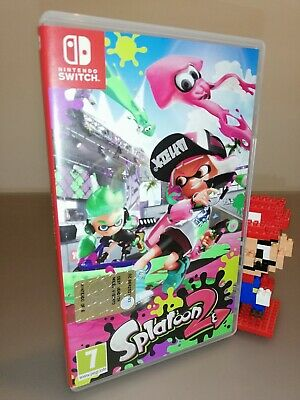 Splatoon 2 Nintendo Switch pal italian version like new pari al nuovo