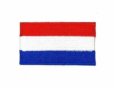 NATIONAL COUNTRY EMBROIDERED FLAG SEW ON/ IRON ON PATCH APPROX 6cm x 3.5 cm