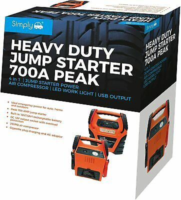 Simply SJS15 Jump Starter Portable Power with Air Compressor