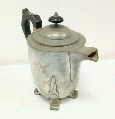 Vintage Pewter Jug Coffee Pot - A.E. Poston & Co. Ltd London - 2907