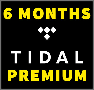 TIDAL PREMIUM Family Plan | 6 Months GUARANTEED | 6 Users | 1 MIN DELIVERY