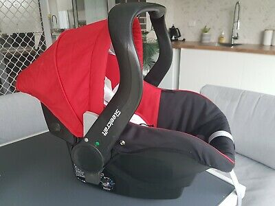 Steelcraft Red Baby Capsule Excellent Condition!