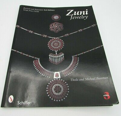 Zuni Jewelry 3rd Edition With Price Guide Book