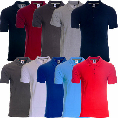 Men's Plain Polo T-shirt  100% Cotton || Stock Clearance Sale'