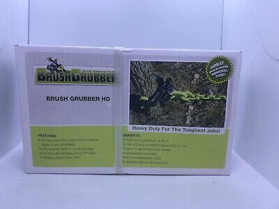 Brush Grubber Brush Tree Plant Removal System Heavy-Duty Metal Steel- Up to 4in.