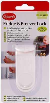 Clippasafe FRIDGE LOCK/LATCH Kitchen Child/kids/Baby Proofing Home Safety BNIP