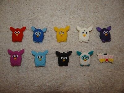 Furby Furbies Shoe Charms Plug Button Clogs Wristband Bracelet Accessories NEW