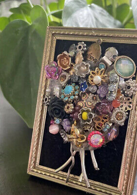 Framed Jewelry Art Magnet