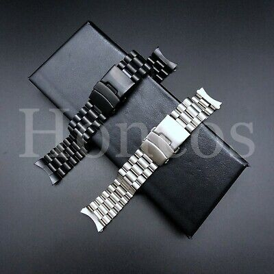 20 - 22 MM Steel Jubilee Watch Band Bracelet Fits For Seiko SKX009 Presidential