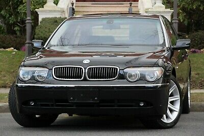 2002 BMW 7-Series 745Li 4dr Sedan 2002 BMW 7 Series 745Li 4dr Sedan Sedan 4-Door ONLY 39K MILES 1-NJ-OWNER