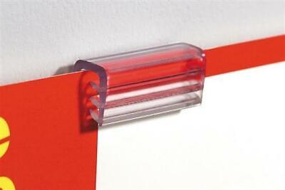 Sign Holders-Flush Super Grip with adhesive -50 pieces