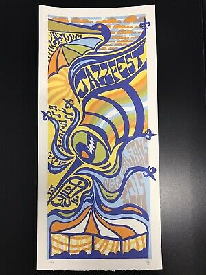 2015 Jazz Fest Poster New Orleans Jazz Festival Unsigned