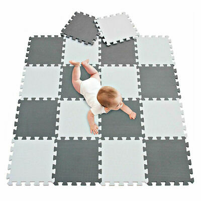 Baby Crawling Puzzle Mat EVA Foam Kids Play Carpet Home Floor 18/24PCS 30X30CM