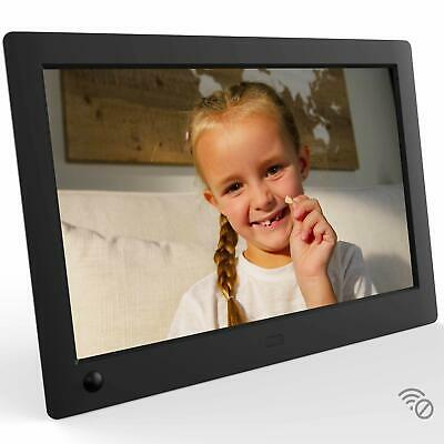 NIX Advance 8 Inch USB Digital Photo Frame Widescreen - HD IPS Display,