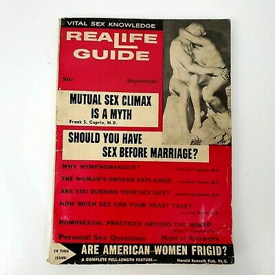 Realife Guide Vintage 1950s MCM Sex Guide