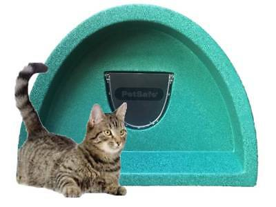Outdoor Cat Shelter / Kennel Plastic Cat House Flap  £57.00  Cosy Cages