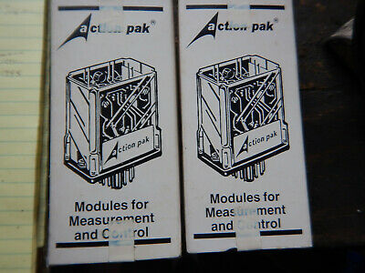 2 New Sealed In Box Action Pak Modules 3240-1395