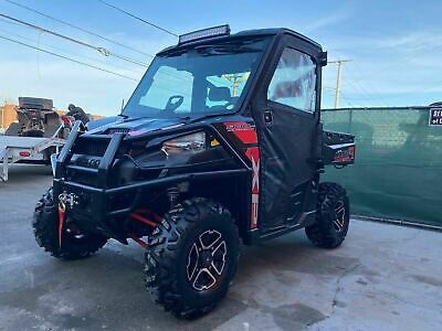 Polaris Ranger Xp900, Eps, Cab, Heater, Radio, Led Light Bar, Brand New Winch