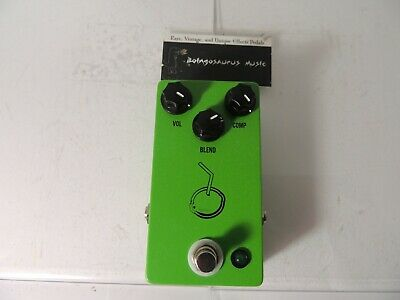 Rare JHS Lime Aid Bass Compressor Effects Pedal Limeaid Free USA Shipping