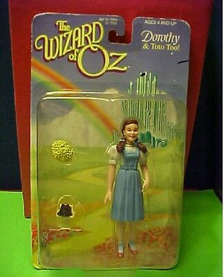 Vintage 1998 Dorothy and Toto Wizard of Oz Trevco Action figure sealed