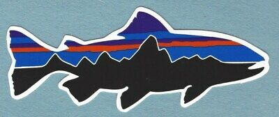 """Black Strap No BS  Logo Fly Fishing Sticker //Decal Fish Outdoor Approx 5"""""""