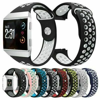 For Fitbit Ionic Replacement Silicone Sports Band Strap