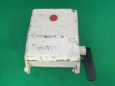Bill Radette 10 Amp 3 Pole Fused Switch Disconnector