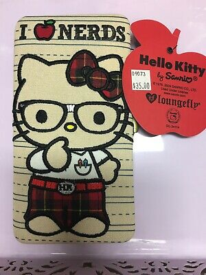 Hello Kitty Nerds Wallet By Loungfly Brand New