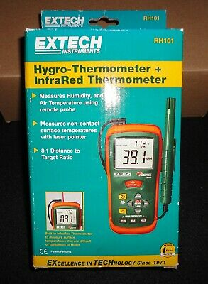 Extech RH101 Hygro-Thermometer + InfraRed Thermometer free shipping