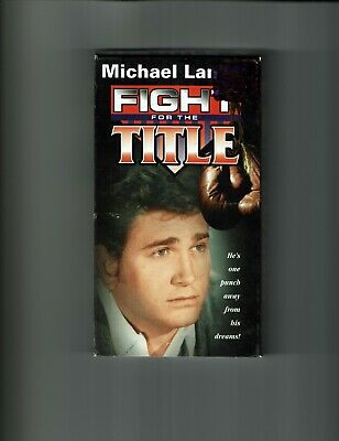 Fight for the Title VHS Michael Landon
