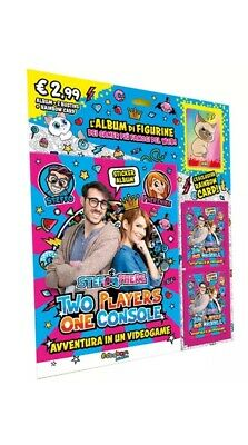 Album 3 Bustine di Figurine Rainbow Card Stef & Phere Two Players One Console