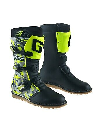 Gaerne Trials Boots - Camo Yellow - 2532 020