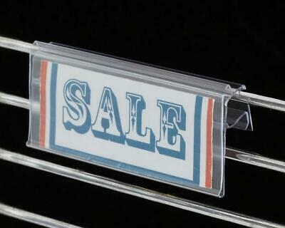 Sign Holders-Price Tag Holder for Wire Shelf or Wire Basket