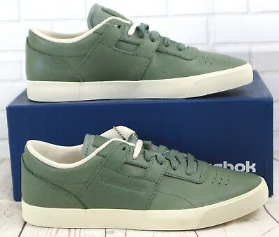 REEBOK WORKOUT LOW Clean FVS Lux Men's Leather Trainers