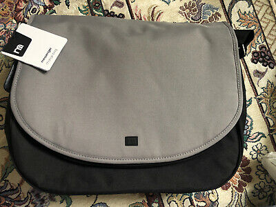 Mothercare Messenger Baby Changing Bag Blue And Black RRP £40