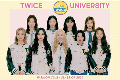 TWICE University Fashion Club Trading Card Photocard ALL MEMBERS - US Seller