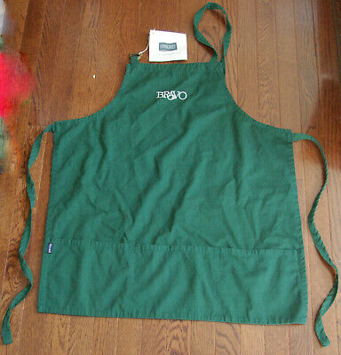 Bravo Restaurant Apron 3 Pockets Lands End New