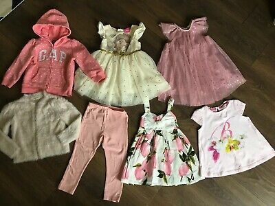 Girls Mixed Clothes Bundle Age 18-24 Mths Ted Baker, River Island Etc